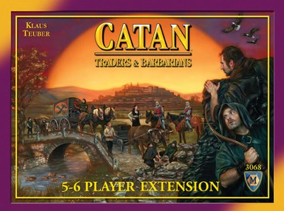 Catan: Traders & Barbarians 5-6 Player Extension (4th Edition)  -