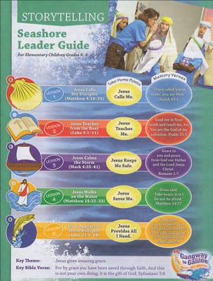 Seashore Storytelling Leader Guide with CD  -     By: Pam Nummela, Greg Copeland