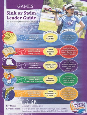 Sink or Swim Games Leader Guide  -     By: Ashley Bayless, Greg Copeland