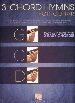3-Chord Hymns for Guitar   -