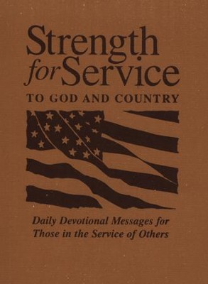 Strength for Service to God and Country - Khaki  -