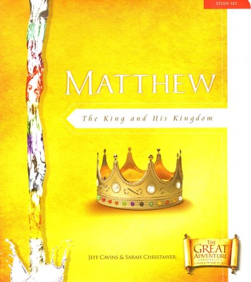 Adventures in Matthew Study,  The Great Adventure Series   -     By: Jeff Cavins
