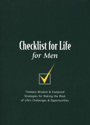 Checklist for Life for Men   -
