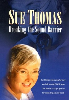 Sue Thomas: Breaking the Sound Barrier, DVD   -