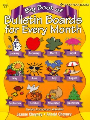 Big Book of Bulletin Boards: for Every Month   -