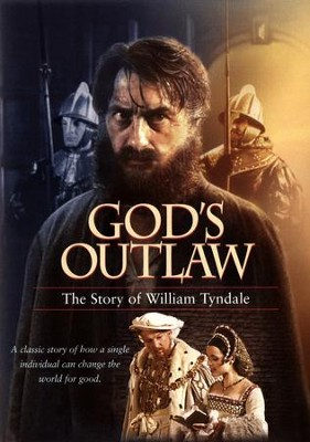God's Outlaw: The Story of William Tyndale DVD   -
