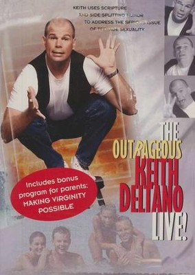 The Outrageous Keith Deltano Live! DVD   -