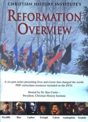 Reformation Overview--DVD Curriculum   -