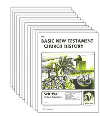 High School Bible Elective: New Testament Church History PACEs 121-132  -