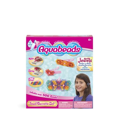 Aquabeads, Jewel Barrette Set  -