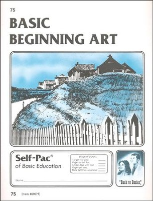 Junior High Fine Arts Elective: Beginning Art PACES 73-84   -