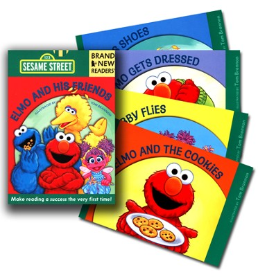 Elmo and His Friends, 123 Sesame Street  -     By: & Tom Brannon (Illustrator)     Illustrated By: Tom Brannon