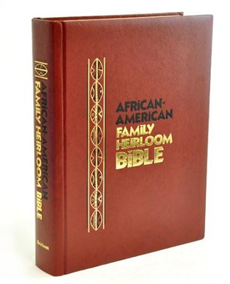 KJV African-American Family Heirloom Bible    -
