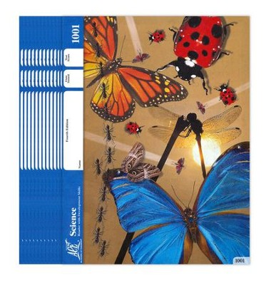 Grade 1 Science PACEs 1001-1012 (4th Edition)  -