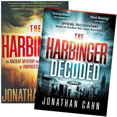 The Harbinger/ The Harbinger Decoded--Book and DVD   -     By: Jonathan Cahn