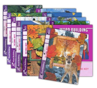 Grade 2 Word Building SCORE Keys 1013-1024 (with 4th Edtion  Score Keys 1013-1023)                -
