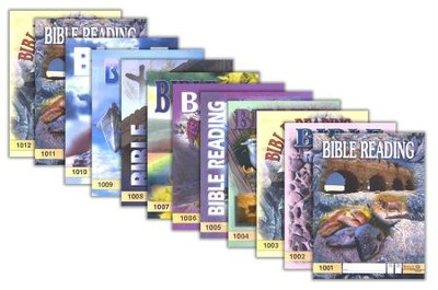 Grade 1 Bible Reading PACEs 1001-1012   -