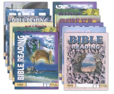 Grade 2 Bible Reading PACEs 1013-1024   -