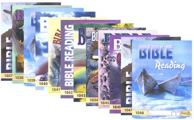 Grade 4 Bible Reading PACEs 1037-1048   -