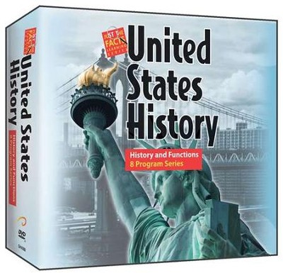 U.S. History : History and Functions DVD Series (8 DVDs)  -