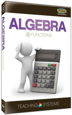 Teaching Systems Algebra Module 2: Functions DVD   -