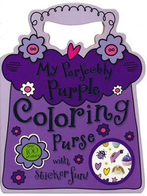 My Perfectly Purple Coloring Purse  -     By: Tim Bugbird