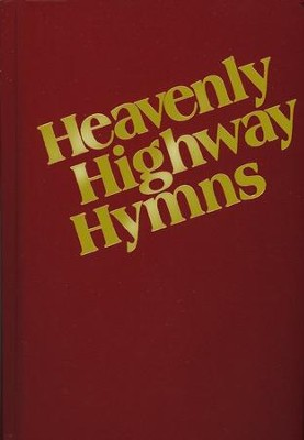 Heavenly Highway Hymns (hardcover, red)   -
