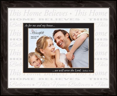 Joshua 24:15, Photo Frame  -
