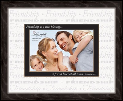 Proverbs 17:17, Photo Frame  -