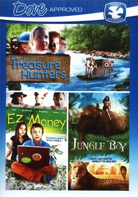 Lil' Treasure Hunters/EZ Money/Jungle Boy, Multi Feature DVD   -