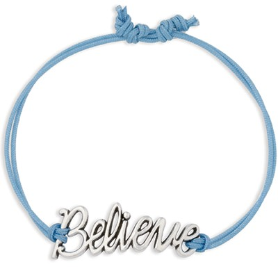 Believe Adjustable Bracelet  -