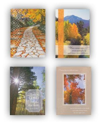 Scenic Encouragement Cards, Box of 12  -