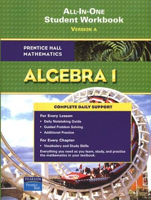 Prentice Hall Mathematics: Algebra 1 Student Workbook   -
