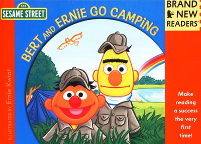 Bert and Ernie Go Camping: Brand New Readers  -     By: Sesame Workshop     Illustrated By: Ernie Kwiat