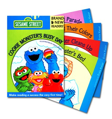 Cookie Monster's Busy Day: Brand New Readers  -     By: Sesame Workshop     Illustrated By: Ernie Kwiat