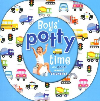Boys' Potty Time With Reward Stickers  -