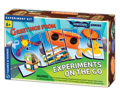Science Experiments On the Go   -