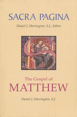 The Gospel of Matthew: Sacra Pagina [SP]   -     By: Daniel J. Harrington S.J.