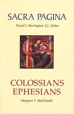 Colossians & Ephesians: Sacra Pagina [SP]   -     By: Margaret Y. MacDonald