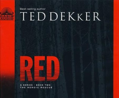 The Circle Trilogy #2:  Red - Unabridged Audiobook on CD        -     By: Ted Dekker