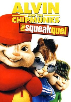 Alvin and the Chipmunks: The Squeakquel, DVD  -