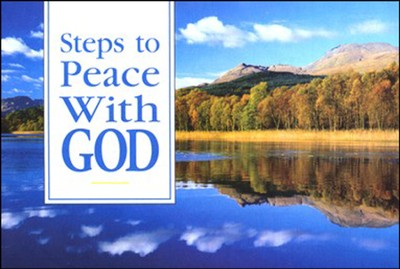 Steps to Peace with God, Pack of 25 Tracts                -