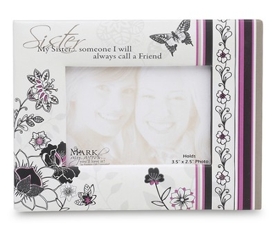 Sister, Magnet Photo Frame  -