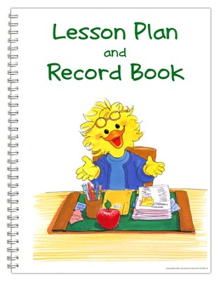 Suzy's Zoo Lesson Plan/Record Book  -