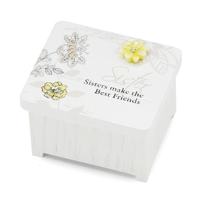 Sisters Make the Best Friends Keepsake Box  -