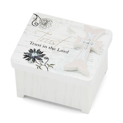 Trust in the Lord Keepsake Box  -