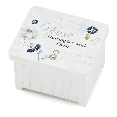 Nurse is a Work of the Heart Keepsake Box  -