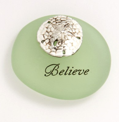 Believe Sea Stone, Gift Boxed  -