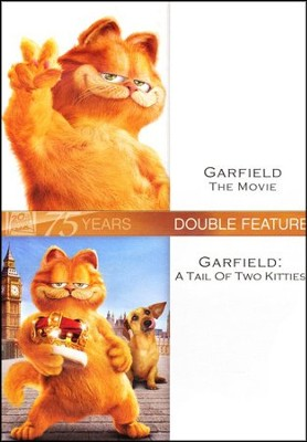 Garfield: The Movie/A Tail Of Two Kitties, Double Feature DVD   -