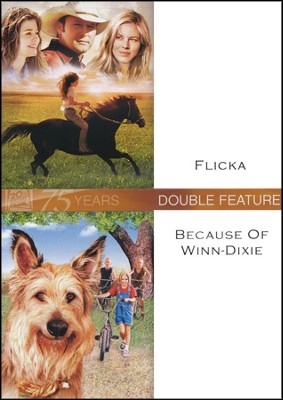 Flicka/Because of Winn-Dixie, Double Feature DVD   -